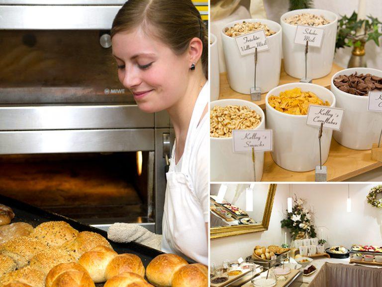 Hotel Service Frühstücksbuffet