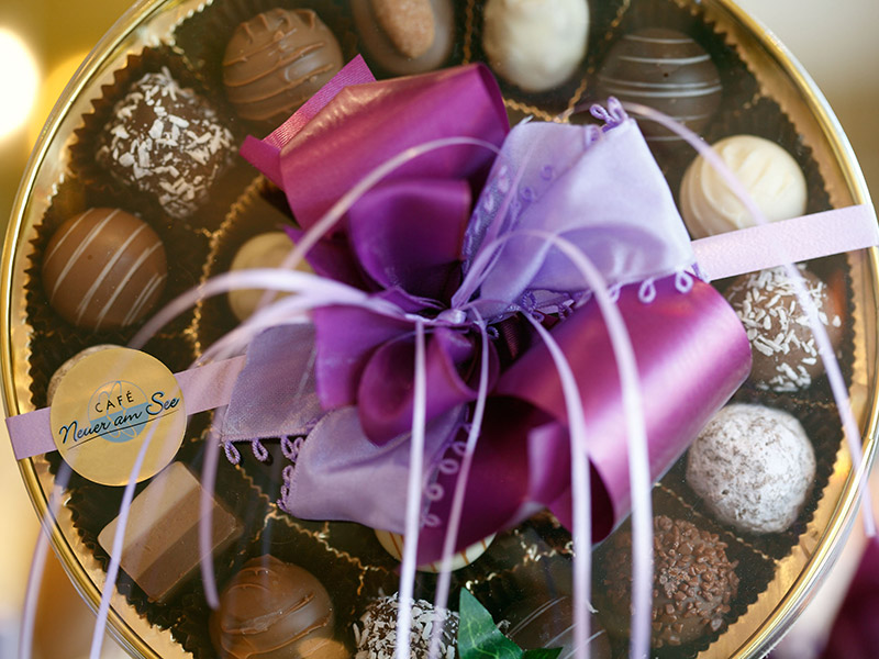 Schokoladen-Kunstwerke