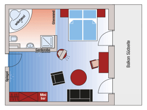 """Roomplan Suite """"Lake Chiemsee"""""""