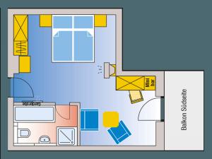 Roomplan Suite Lake-View Suite