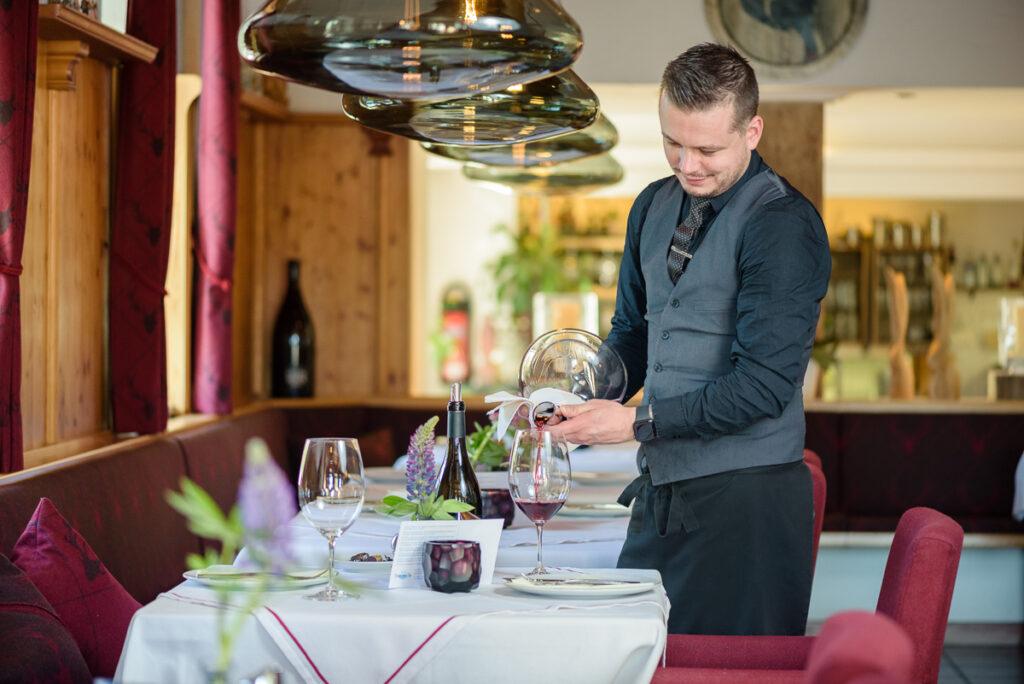 Service im Restaurant